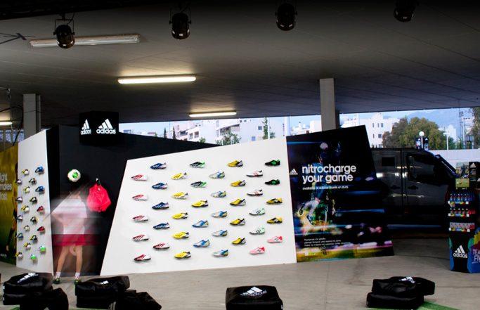 Adidas Booth_Adidas Team 5 Challenge